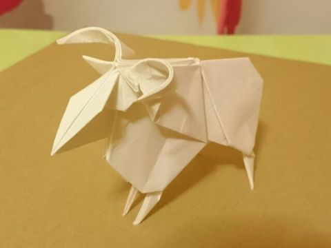 簡単 折り紙 羊の折り紙 : afj.ti-da.net