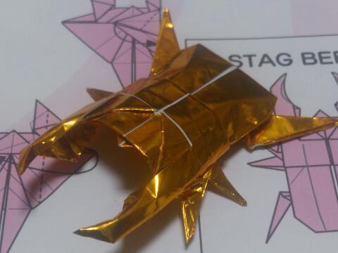 飛行機 折り紙 : 折り紙 カブトムシ 折り方 : afj.ti-da.net