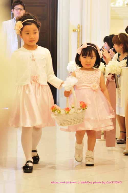 実例】みんなどうしているの?子どもの結婚式の服装。フラワー