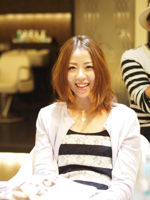 沖縄美人のヘアスタイルbefore&after