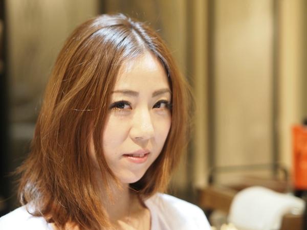 沖縄美人のヘアスタイル デジタルパーマに挑戦