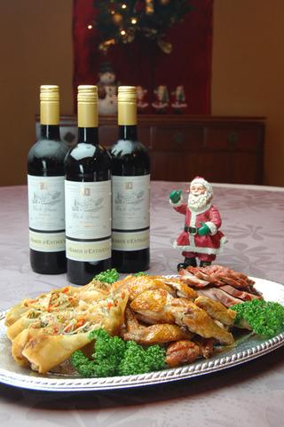 三日間限定クリスマスディナー:月苑飯店~美味繁盛日記
