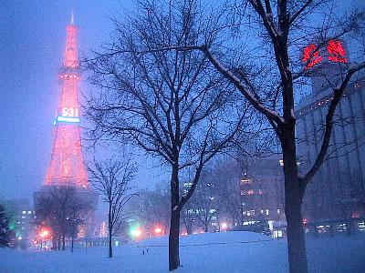 ☆☆☆南の島から☆☆☆:『雪が降る町』